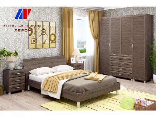 Спальня Мелисса Дуб Пасадена