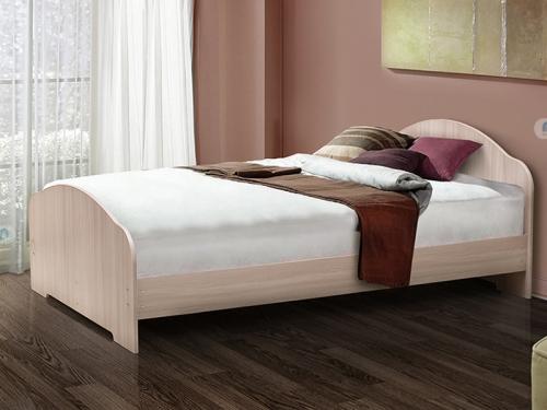 Кровать двойная на уголках No 1 Матрица