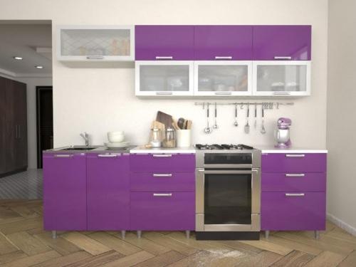 Кухня Умница - Виолетта МДФ