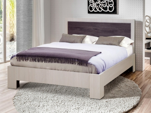 Кровать двойная Венеция 6 матовая