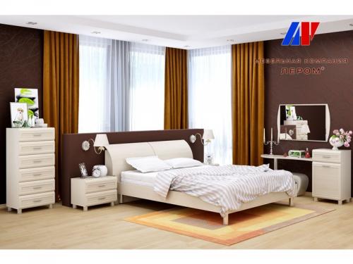 Спальня Мелисса Дуб Беленый