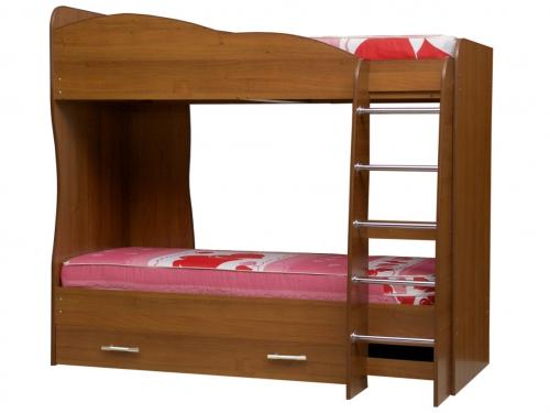 Кровать двухъярусная Юниор-2 Матрица