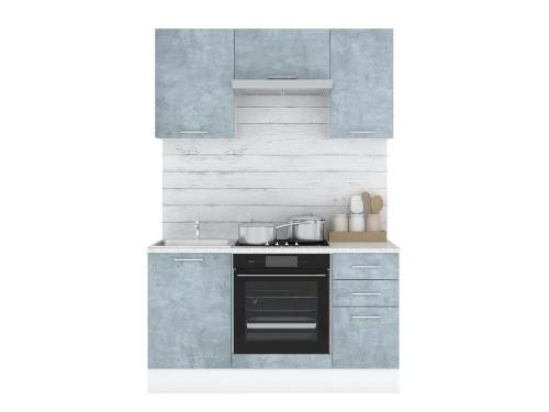 Кухонный гарнитур Лофт 1500 камень оленна