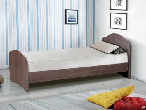 Кровать одинарная на уголках No 1 Матрица