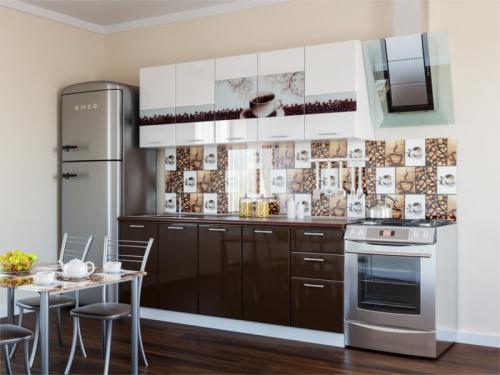 Кухня Кофе глянец
