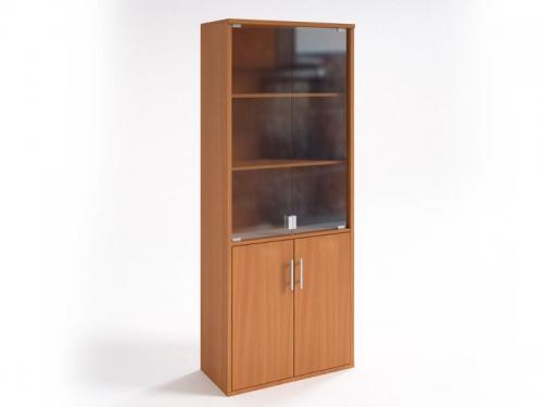 Шкаф со стеклянными дверцами НШ-2